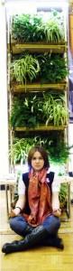 Вертикальные сады в образовательных учреждениях (Вертикальное озеленение, фитостены из фитомодулей своими руками)