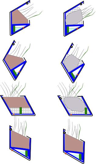 различное положение модулей в пространстве