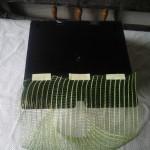 Фиксация сетки на задней панели