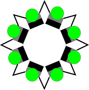 коллона шестигранник