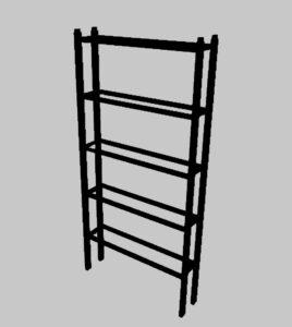 Новый стеллаж -этажерка для создания вертикального сада на модулях редкого полива