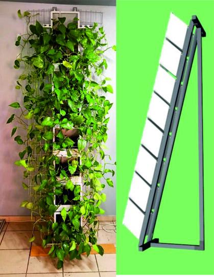 Входные зеленые зоны,. высокие клумбы на модулях редкого полива